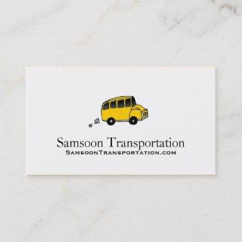 bus business cards