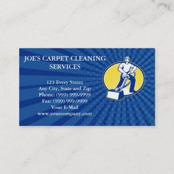 business card carpet cleaner vacuum cleaning machi