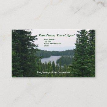 business card: journey business card