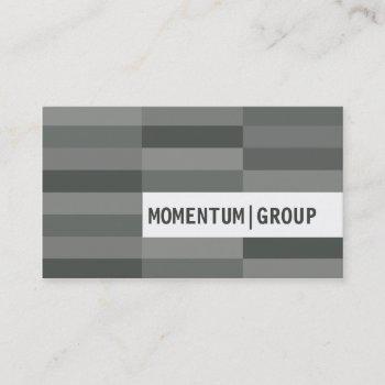 business card :: modern rectangular panels 7