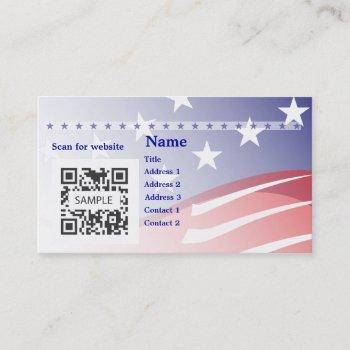business card template campaign