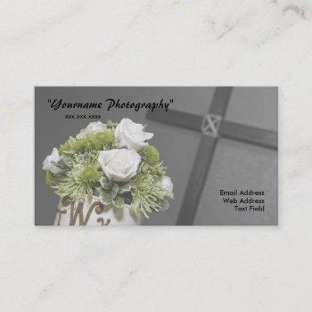 business card, wedding photography business card