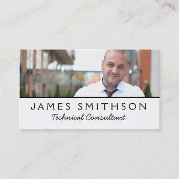 business card your photog custom template plain