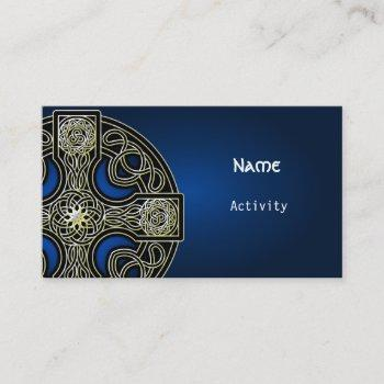 business cards celtic cross