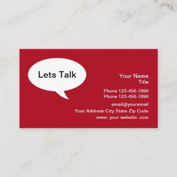 business networking clever business card
