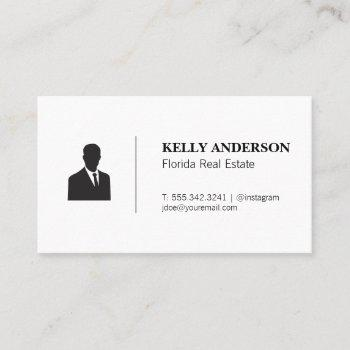 business sales | real estate professional business card