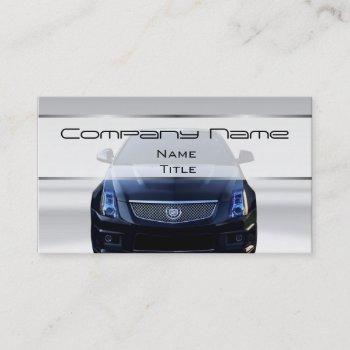 cadillac car business cards