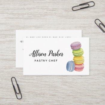 cake / bakery business card