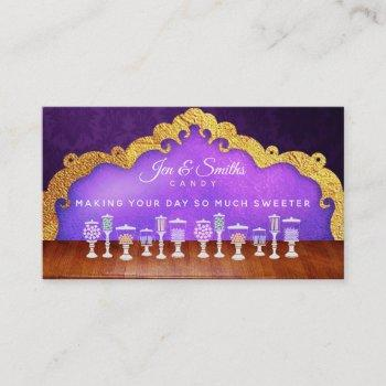 candy slogans business cards