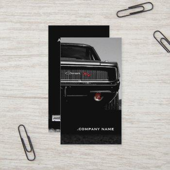 car 01 • stylish business card