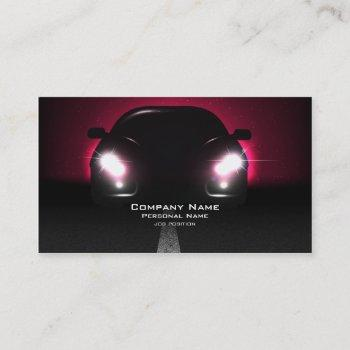 car business  business card