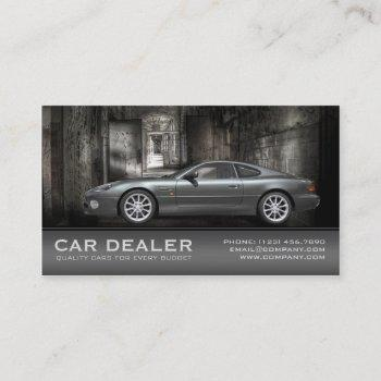 car dealer / automotive business card