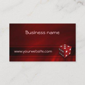casino chip business card templates