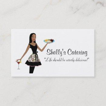 catering diva business cards