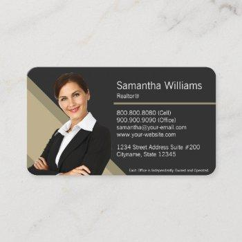 century 21 real estate business card