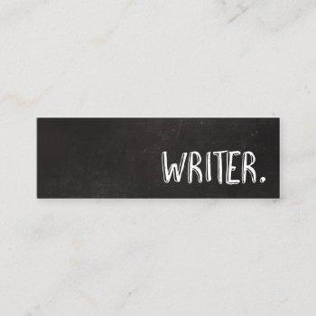 chalkboard writer mini business card
