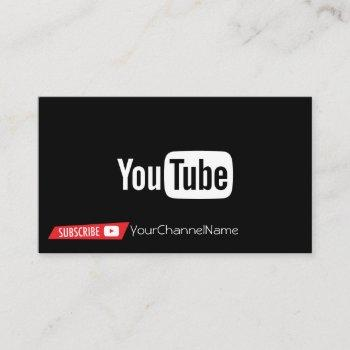channel advertisement card