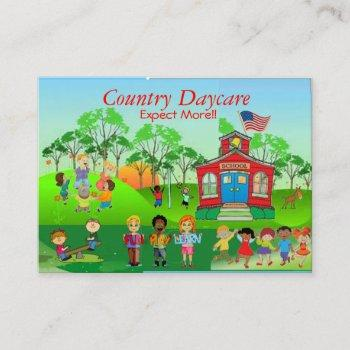 childrens daycare business card