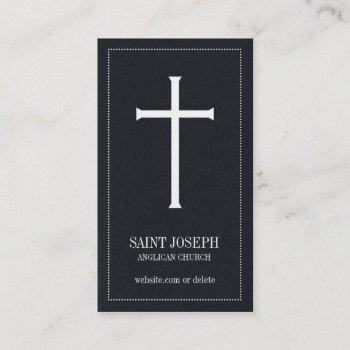 church cross business cards