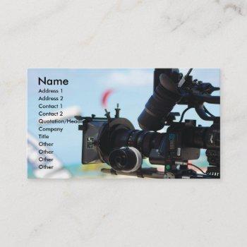 cinematographer business card