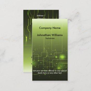 circuit board 2 business cards