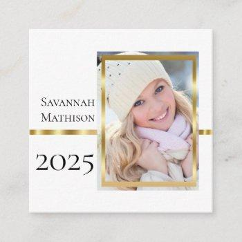 class year graduation insert name | photo cards