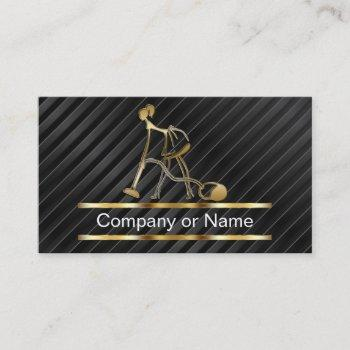 classy cleaning business cards