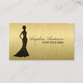 classy fashion boutique business card