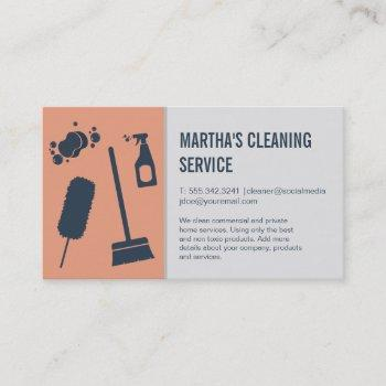 cleaning services | supplies | maids business card