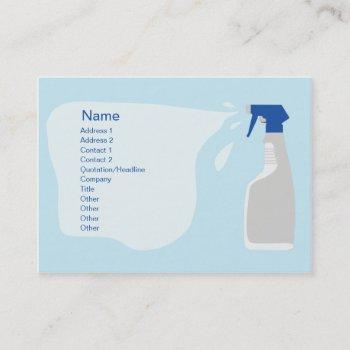 cleanser - chubby business card