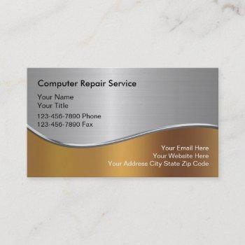 computers business card