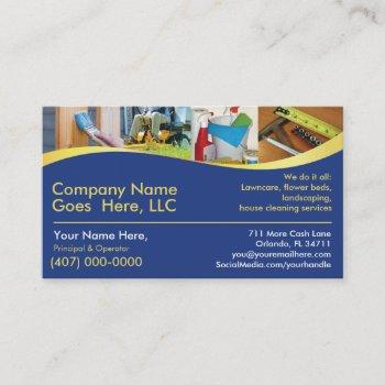 contractor/handy man /do it all / business card