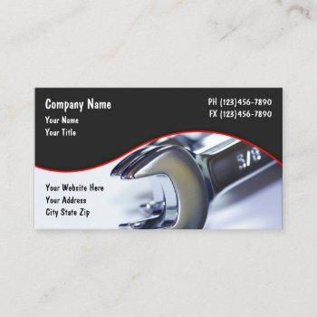 cool automotive theme business card