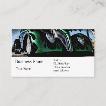 cool costs money. business card