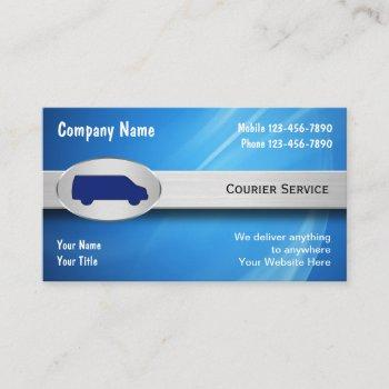 courier business cards