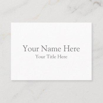 create your own mighty business card