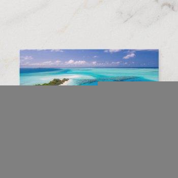 create your own scenic ocean view business card
