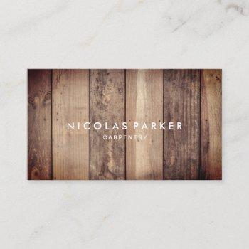 create your own wooden floor 3 business card
