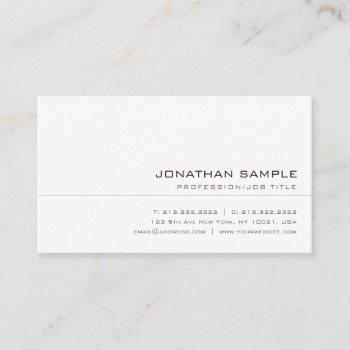 creative elegant colors trendy sleek professional business card