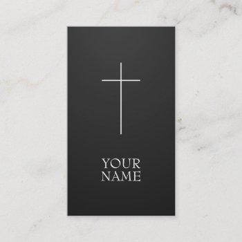 cruz business card