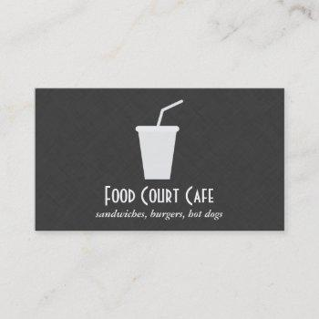 cup / to go business card