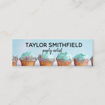 cupcake mini business card