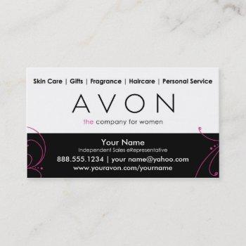 custom avon business cards