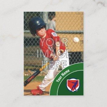 custom baseball trading card