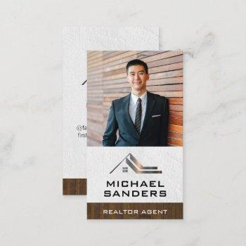 custom business photo | real estate business card