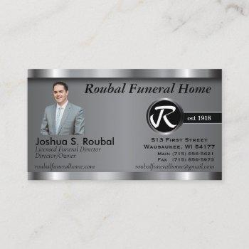 custom - executive business card