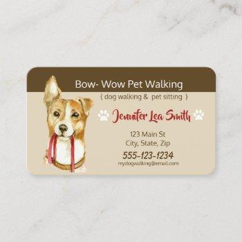 custom pet business cards