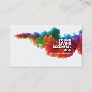 customizable young living business cards
