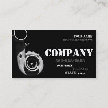 diesel turbo business card