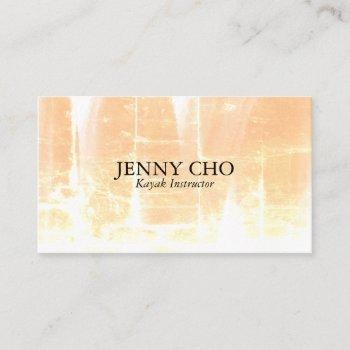 distressed neutrals textured business card